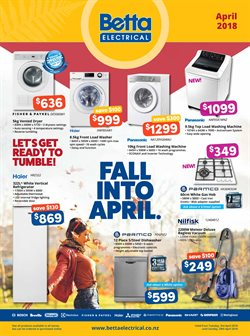 Offers from Betta Electricals in the Auckland special
