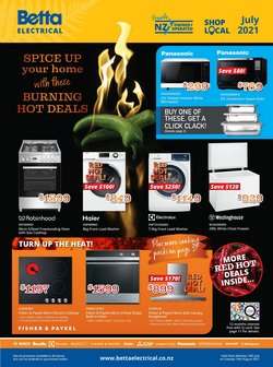 Betta Electricals offers in the Betta Electricals catalogue ( 15 days left)