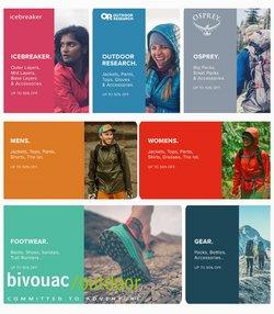 Bivouac offers in the Bivouac catalogue ( 6 days left)