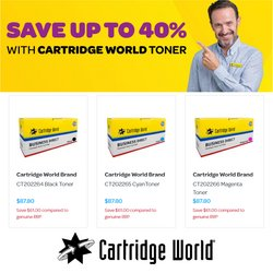 Cartridge World offers in the Cartridge World catalogue ( 26 days left)