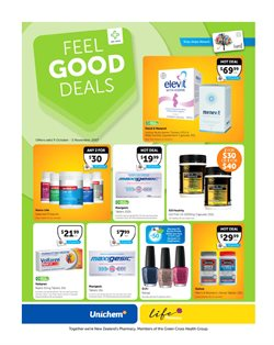 Offers from Unichem in the Christchurch special