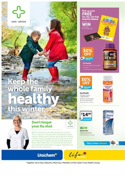 Pharmacy, Beauty & Personal Care offers in the Unichem catalogue in Rotorua
