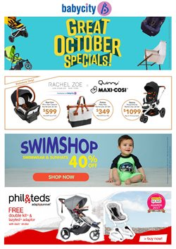 Kids, toys & babies offers in the Babycity catalogue in Auckland