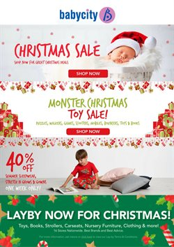 Offers from Babycity in the Auckland special