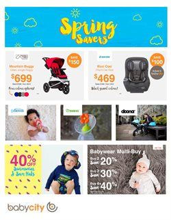 Kids, toys & babies offers in the Babycity catalogue in Christchurch