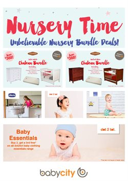 Kids, toys & babies offers in the Babycity catalogue in Palmerston North