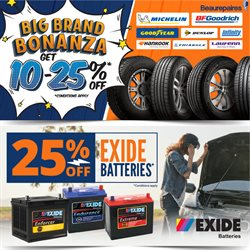 Cars, Motorcycles & Spares offers in the Beaurepaires catalogue ( 15 days left )