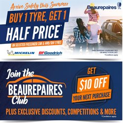 Cars, Motorcycles & Spares offers in the Beaurepaires catalogue in Hamilton ( 27 days left )