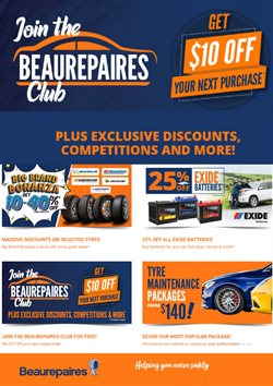 Beaurepaires catalogue ( 6 days left )