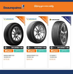 Cars, Motorcycles & Spares offers in the Beaurepaires catalogue ( 3 days left)
