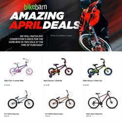 Sport offers in the Bike Barn catalogue in Hastings