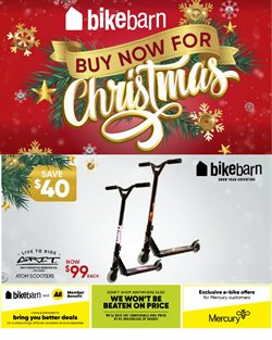 Christmas offers in the Bike Barn catalogue ( Expires tomorrow)