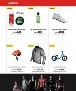 Sport offers in the 99 Bikes catalogue ( 1 day ago)