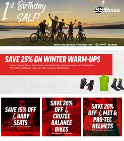99 Bikes offers in the 99 Bikes catalogue ( 1 day ago)