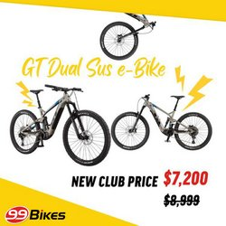 99 Bikes offers in the 99 Bikes catalogue ( 4 days left)