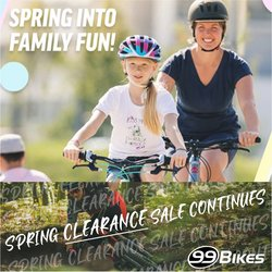 99 Bikes offers in the 99 Bikes catalogue ( 8 days left)