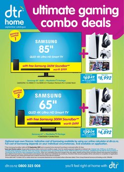 Electronics & Appliances offers in the DTR catalogue ( 9 days left)
