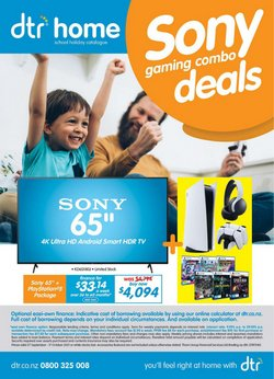 Electronics & Appliances offers in the DTR catalogue ( 6 days left)