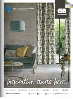 Homeware & Furniture offers in the Guthrie Bowron catalogue ( Expires tomorrow)