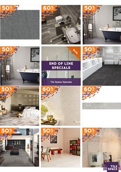 Offers from Tile Space in the Auckland special