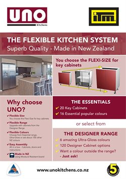 Offers from ITM Building in the Auckland special