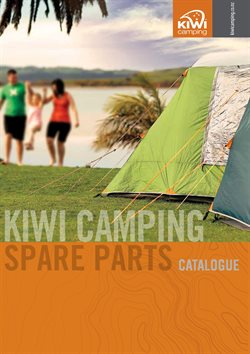 Sport offers in the Kiwi Camping catalogue in Auckland
