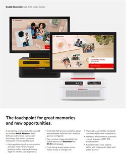 Kodak Alaris catalogue ( More than a month )