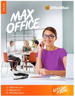Offers from OfficeMax in the Auckland special