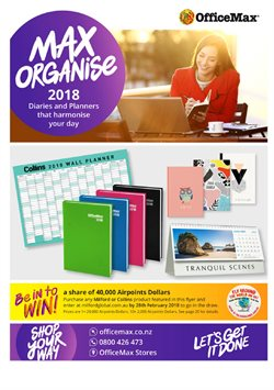 Department Stores offers in the OfficeMax catalogue in Hastings