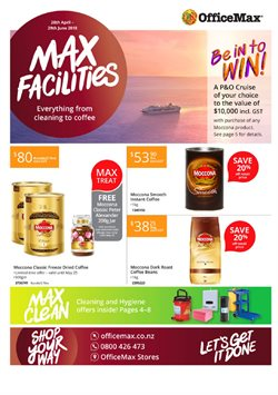 Department Stores offers in the OfficeMax catalogue in Auckland