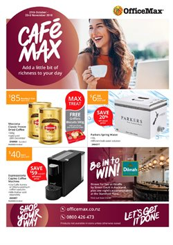 Department Stores offers in the OfficeMax catalogue in Rolleston