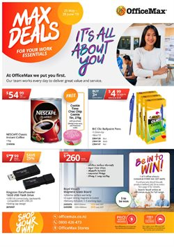 Department Stores offers in the OfficeMax catalogue in Rotorua