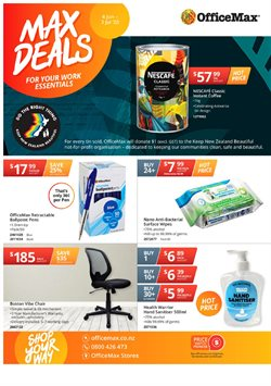 Department Stores offers in the OfficeMax catalogue in Hamilton ( 3 days left )