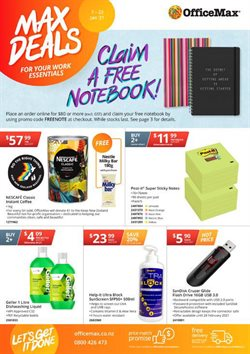 OfficeMax catalogue ( 5 days left )