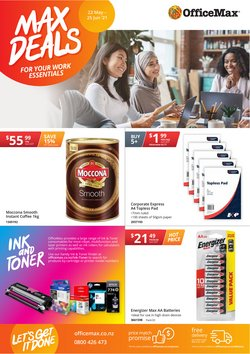 Department Stores offers in the OfficeMax catalogue ( 9 days left)