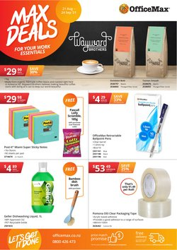 Department Stores offers in the OfficeMax catalogue ( 3 days left)