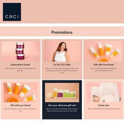 Pharmacy & Beauty offers in the Caci catalogue ( 5 days left)