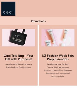 Pharmacy & Beauty offers in the Caci catalogue ( Expires today)