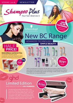 Offers from Shampoo Plus in the Wellington special