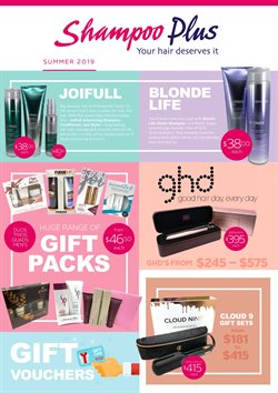 Pharmacy & Beauty offers in the Shampoo Plus catalogue ( Expires today )