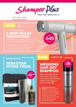 Pharmacy & Beauty offers in the Shampoo Plus catalogue in New Plymouth ( More than a month )