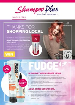 Pharmacy & Beauty offers in the Shampoo Plus catalogue in Palmerston North ( More than a month )