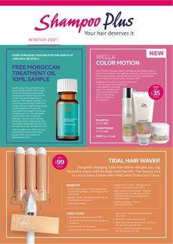 Pharmacy & Beauty offers in the Shampoo Plus catalogue ( More than a month)