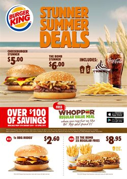 Restaurants offers in the Burger King catalogue in Paraparaumu