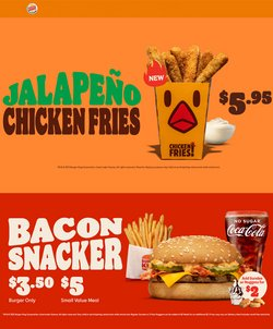 Restaurants offers in the Burger King catalogue ( Expires tomorrow)