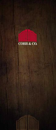 Cobb & Co catalogue ( 25 days left )