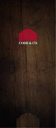 Cobb & Co catalogue ( 3 days left )