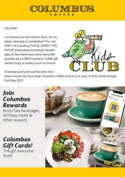 Columbus Coffee catalogue ( 11 days left )