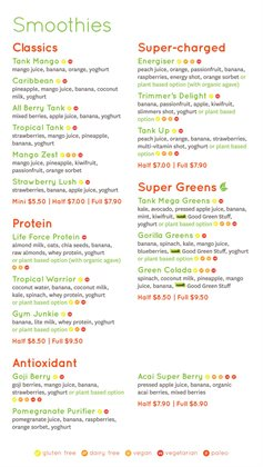 Offers from Tank Juice in the Auckland special