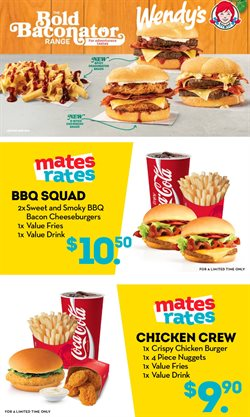 Offers from Wendy's in the Auckland special